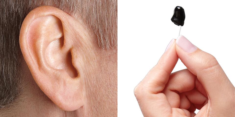 In ear hearing aids